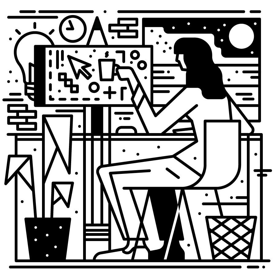 Wired Magazine - sam peet illustration
